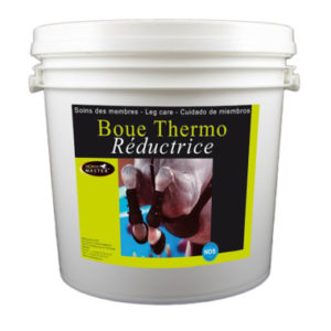 Boue thermo reductrice (+film) pour le cheval