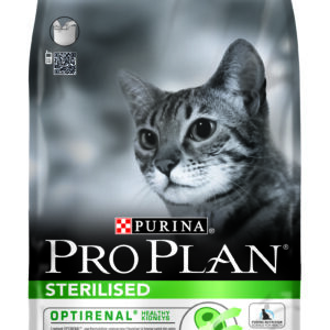Proplan cat sterilised lapin croquette chat