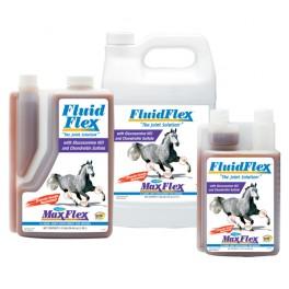 FLUID FLEX en liquide et bidon pour chevaux
