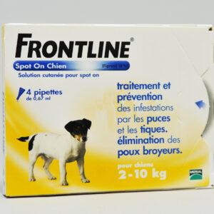 FRONTLINE CHIEN S (2-10) contre puces poux et tique