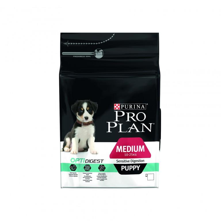 PROPLAN DOG PUPPY SENSITIVE DIGESTION MEDIUM 10 a 25 kilos