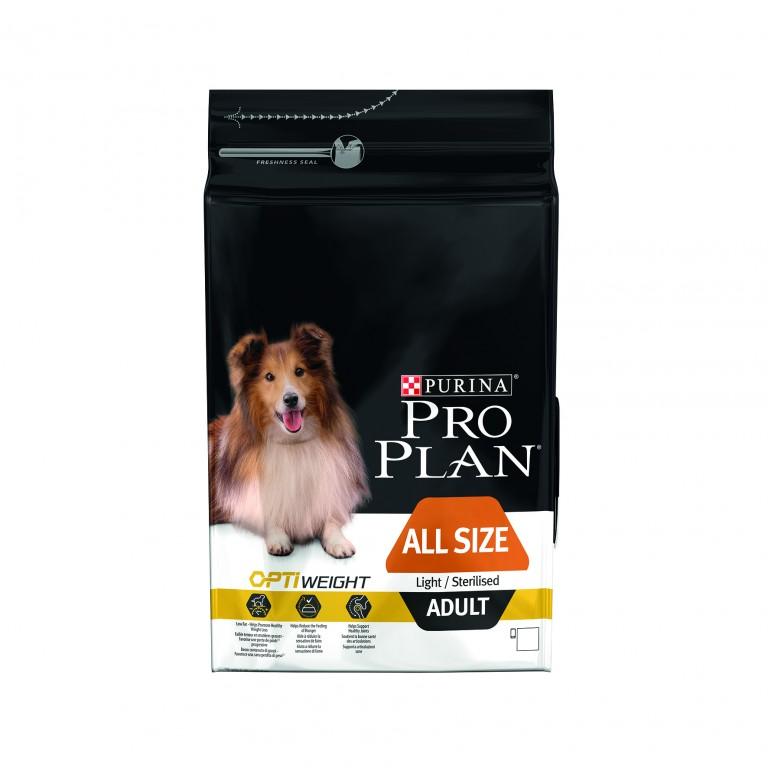 PROPLAN DOG ADULT LIGHT/STERILISED ALL SIZE