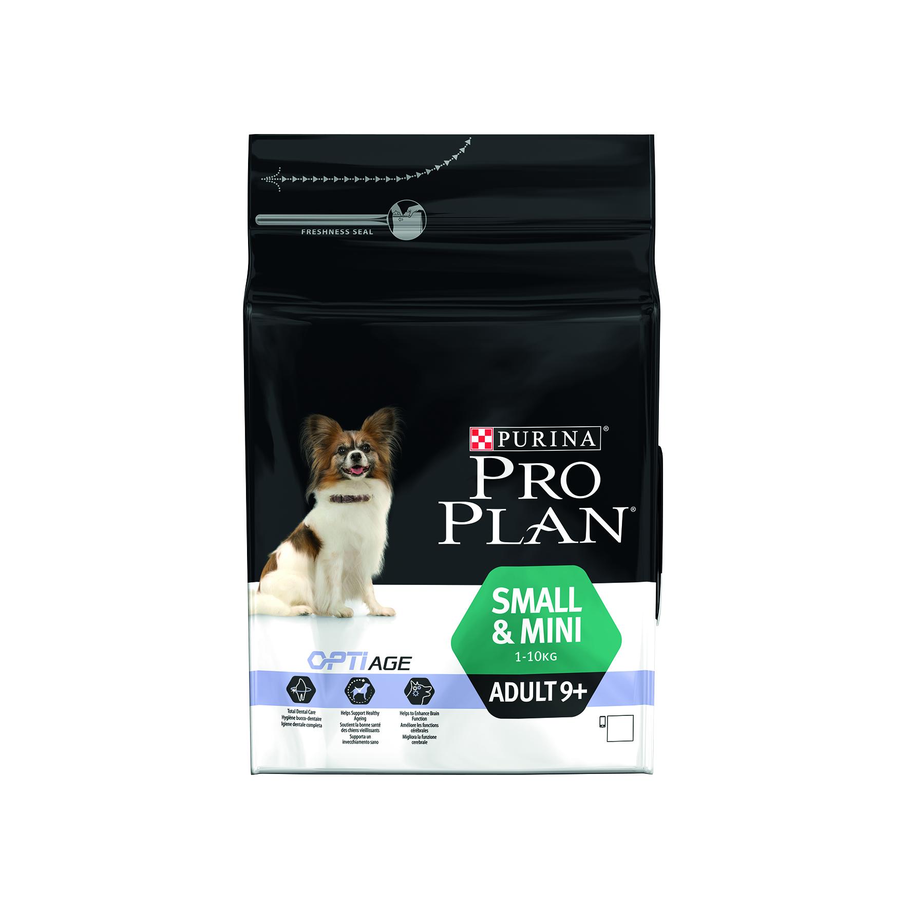 PROPLAN® DOG ADULT 9+ SMALL ET MINI (croquettes chien de plus de 9 ans)