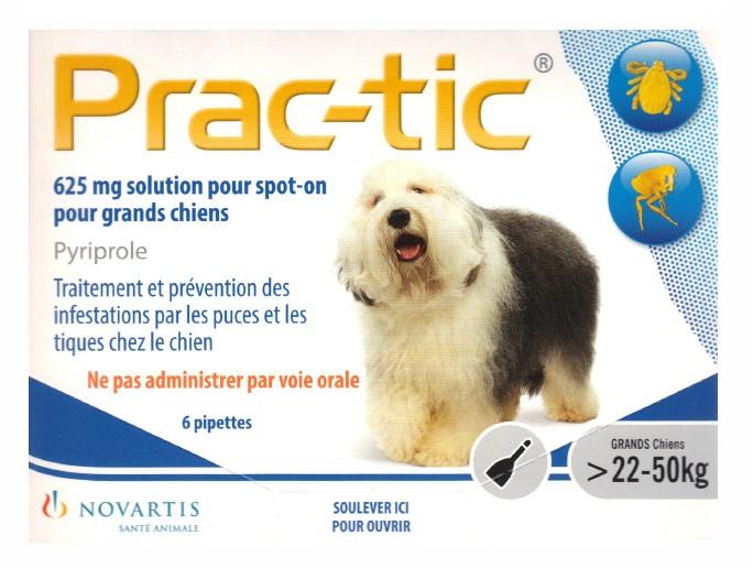 PRAC-TIC spot-on GRAND CHIEN 22-50 KG