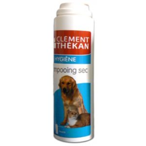 SHAMPOOING SEC chien et chat clement thekan