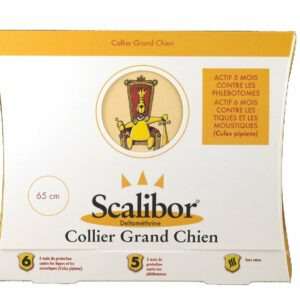SCALIBOR COLLIER GRAND CHIEN contre phlebotomes