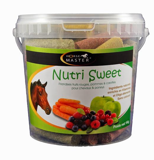 NUTRI SWEET TRIPLES SAVEURS alimentation cheval