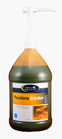 POVIDONE SOLUTION 10% SPRAY chevaline