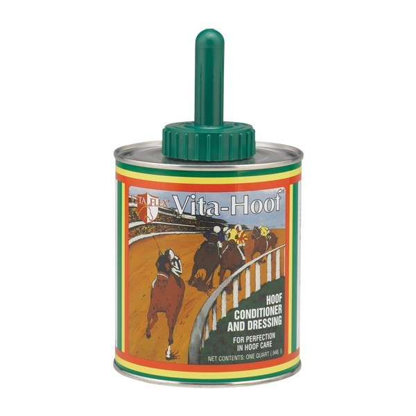 VITA HOOF WHITH BRUSH pour courses de chevaux