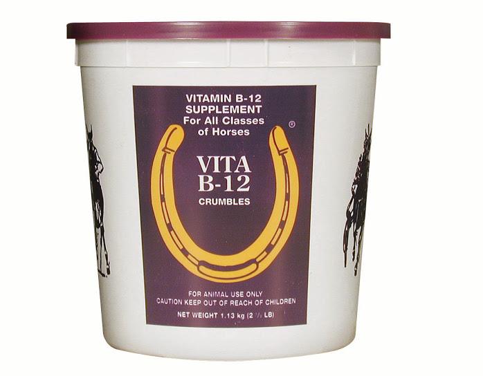 VITAMINE B12 pour les chevaux