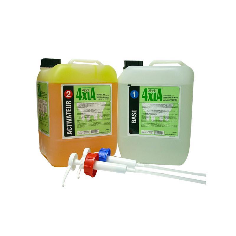 4XLA PACK : Désinfectant dermo-protecteur vache laitière