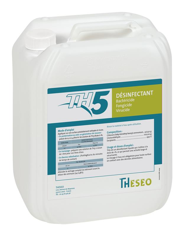 th 5 desinfectant bactericide fongicide virucide