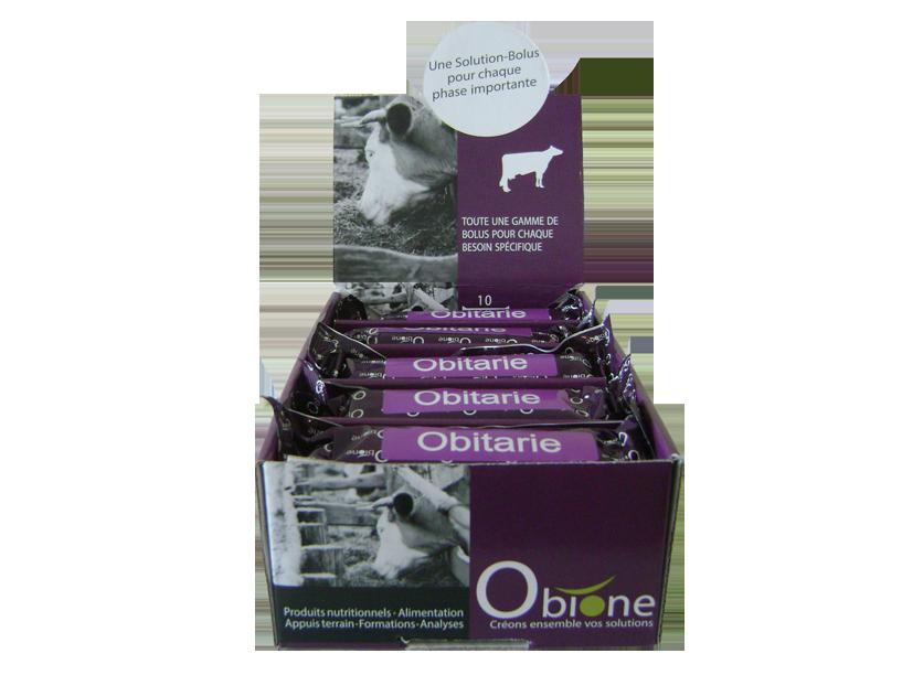 obitarie obione solution bolus bovin