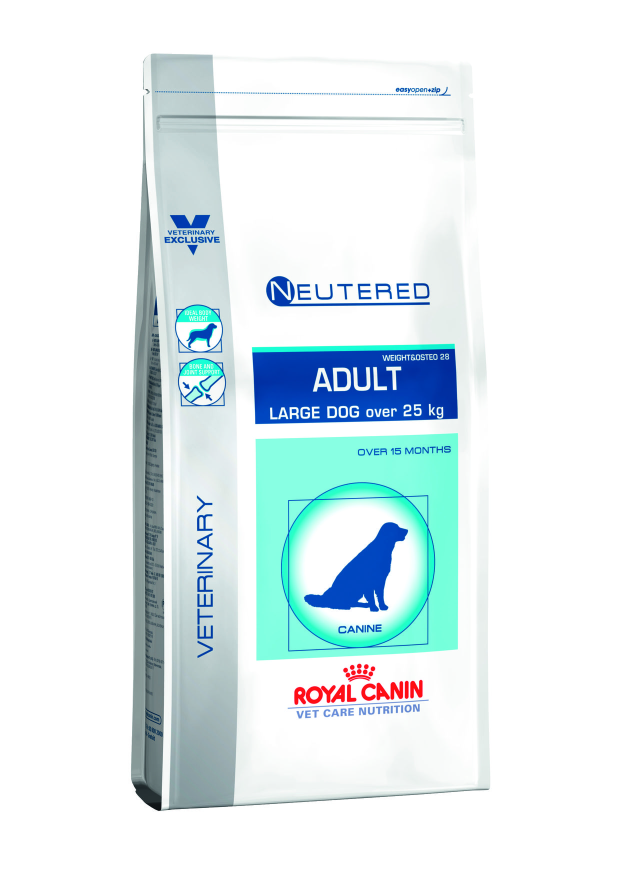 neutered royal canin chien adulte 25 kilo
