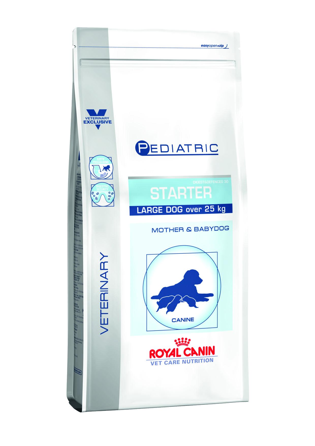 starter pediatrique chiens 25 kilo royal canin