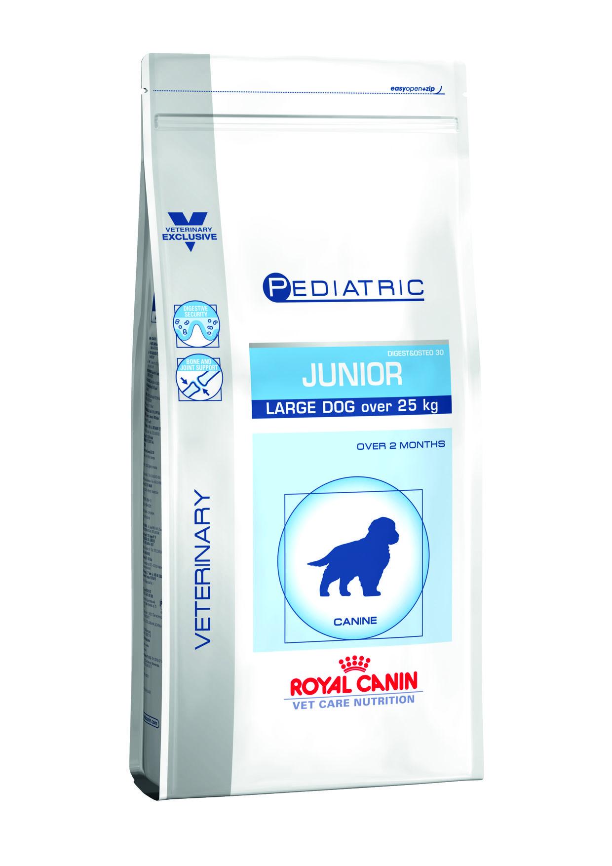 junior pediatric royal canin chien 25 kilo
