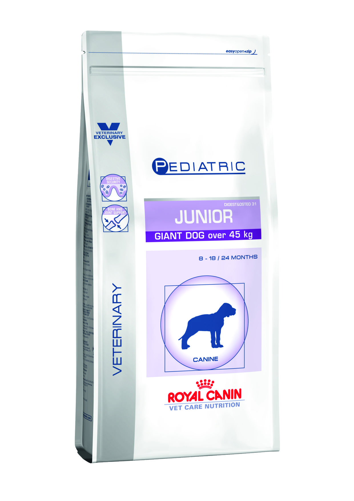 royal canin junior chiens de plus de 45 kilos