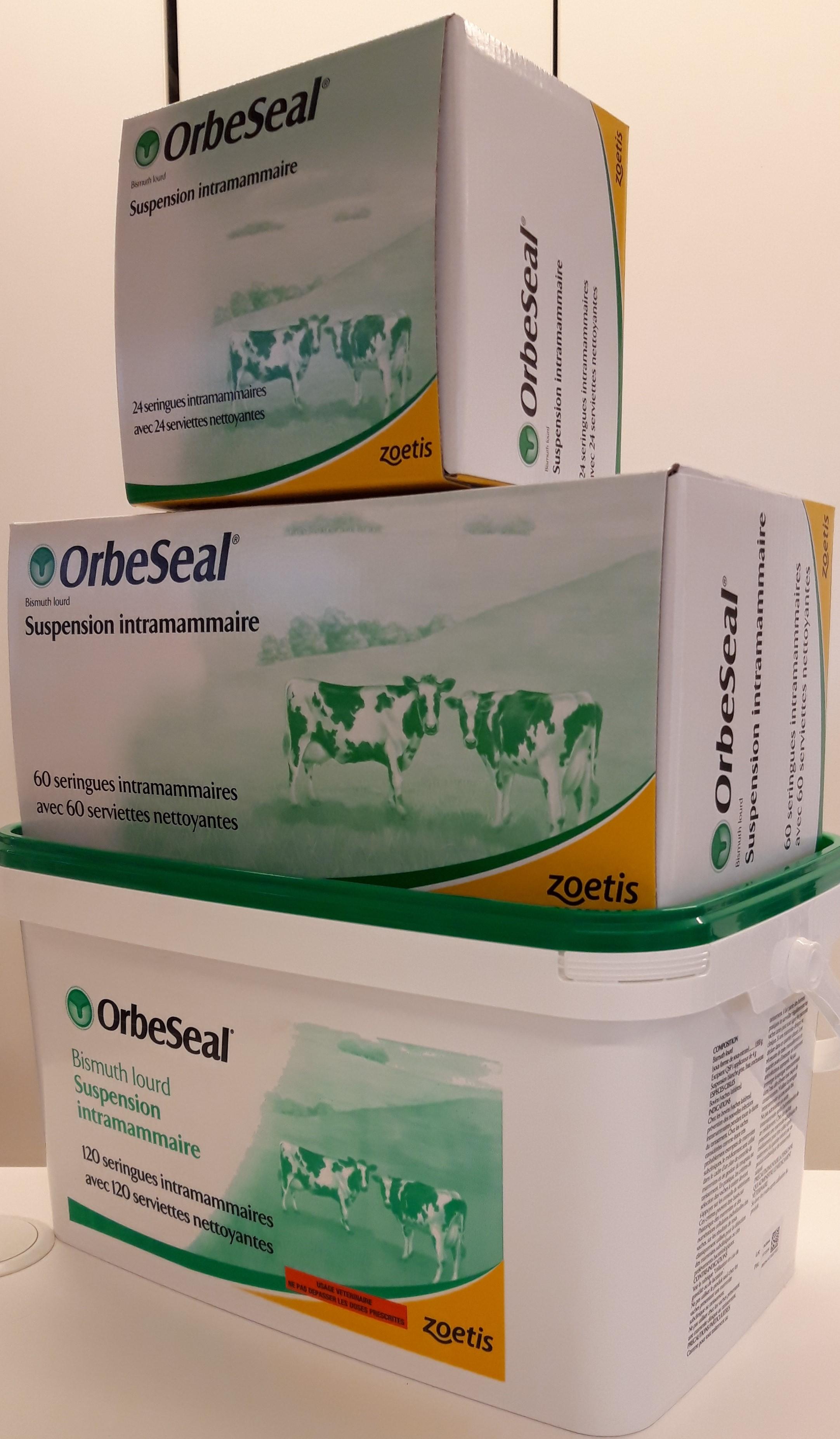 ORBESEAL seringues intramammaires pour vaches laitières