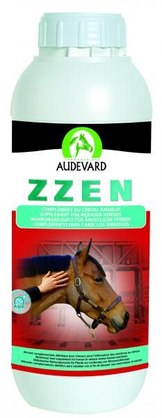 ZZEN Audevard 1 litre chevaux anxieux et chauds, nervosité au travail ou en course