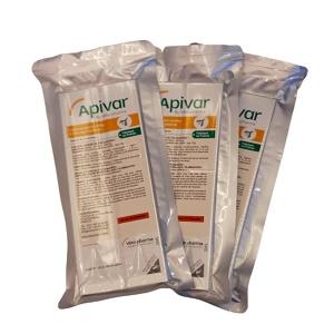 APIVAR Vetopharma® 10 Lanières antiparasitaires pour ruche