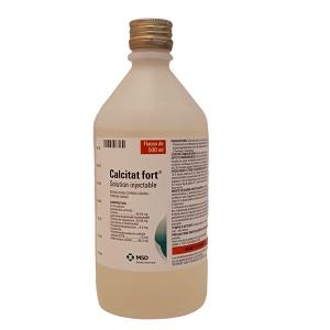 CALCITAT® FORT 500 ml MSD® : solution injectable pour vache laitière