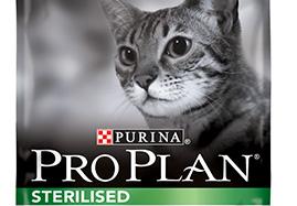 Croquettes pour chats stérilisés