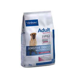 VET HPM Virbac®dog neutered sensitive digest large et médium