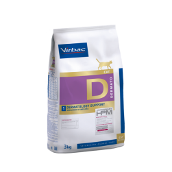 VET HPM Virbac® chat dermatology support sac 3 kg